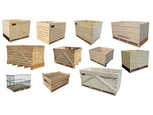 Wooden crate Palox